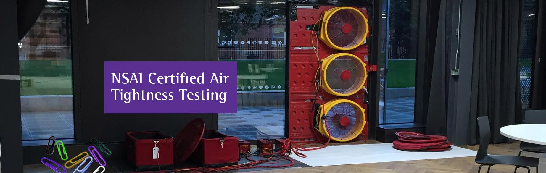 Evolve Energy - Certified Air Tightness Testing