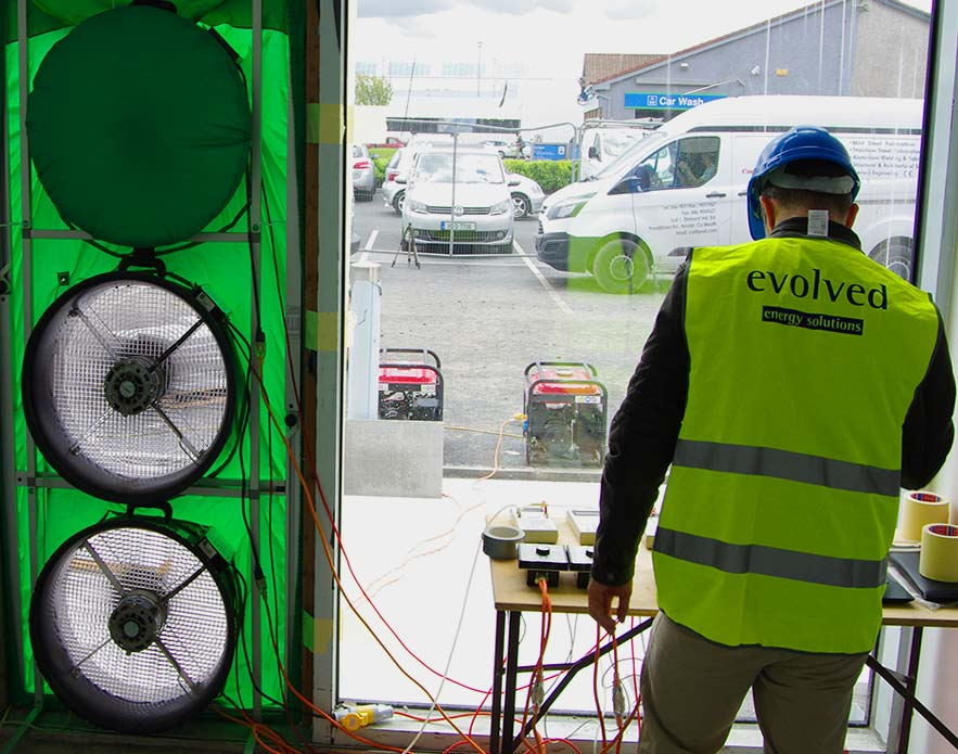 our services air tightness testing