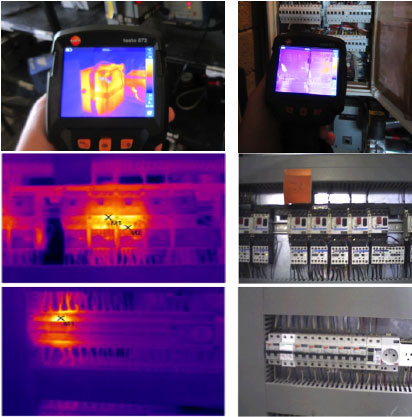 Thermographic Panel Inspection Evolved Energy Dublin / Ireland
